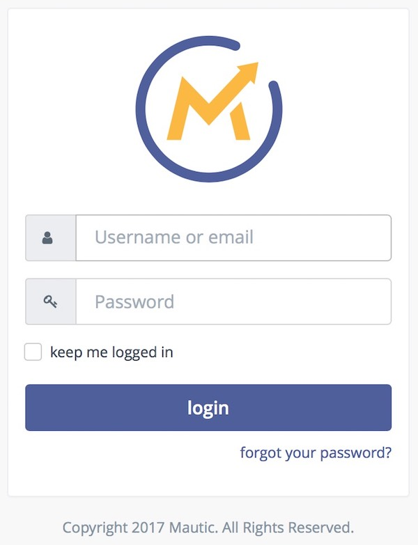 Mautic Demo Login