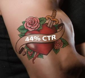 Marketing Campaign CTR Tattoo