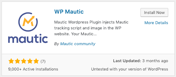 WP Mautic