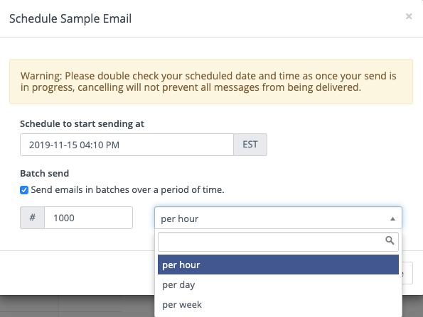 Send Segment Email