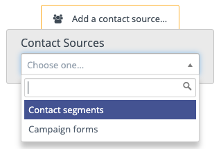 Contact Sources