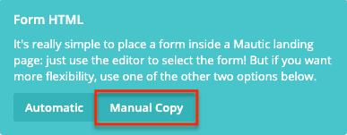 Manual Copy