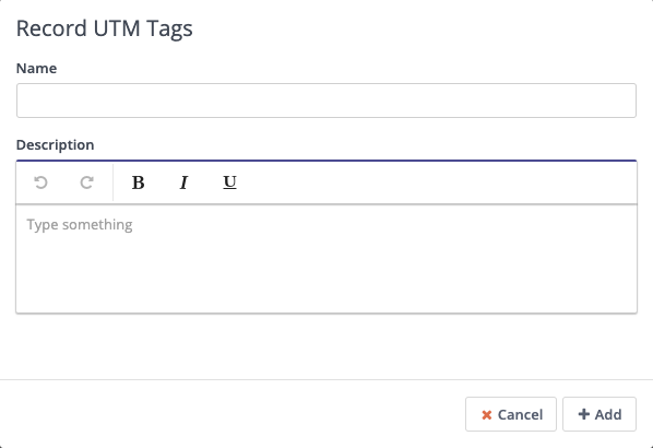 Form Action - Record UTM Tags